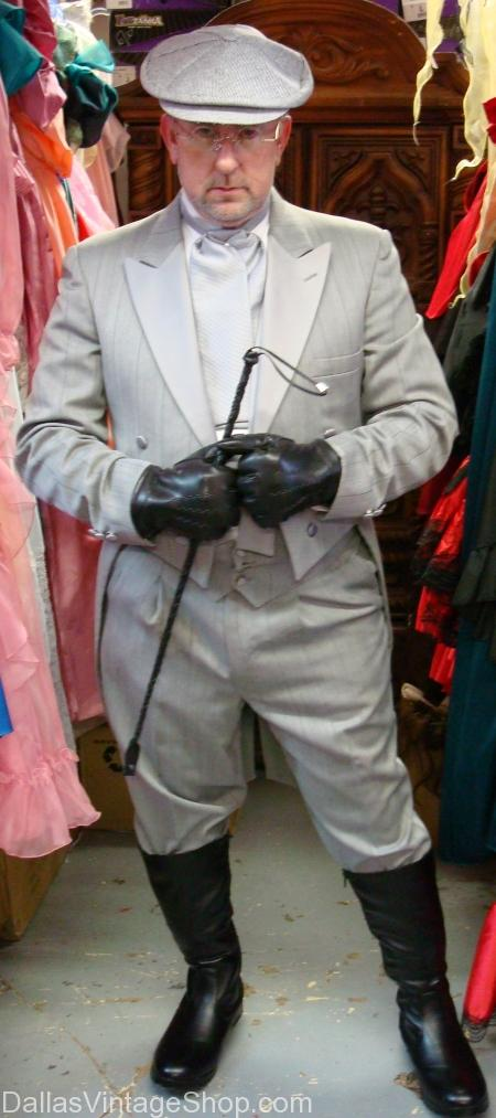 Plus Size Gentlemen's Tuxedos and Tailcoats costume