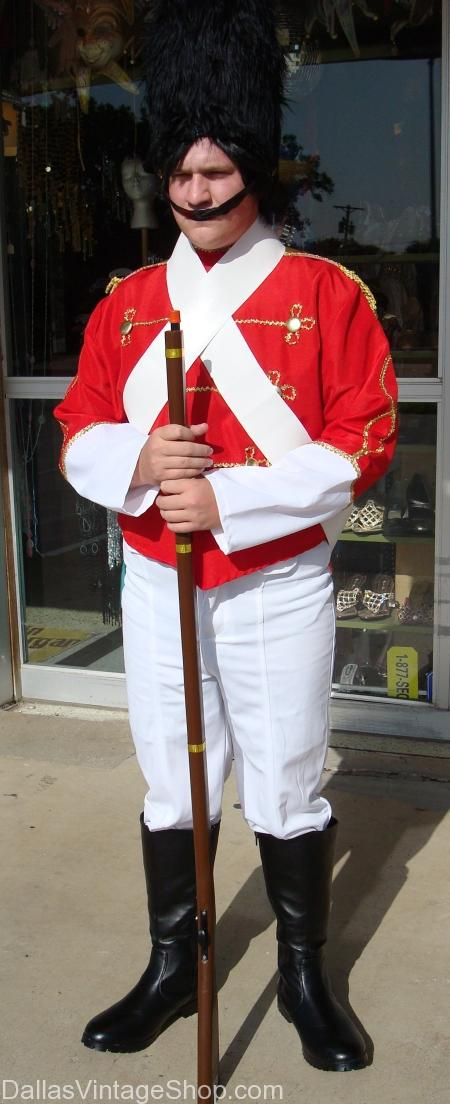 Children's Toy Soldier, Nutcracker Costume