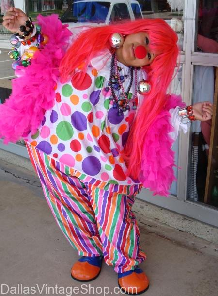 Circus lady clown Costume