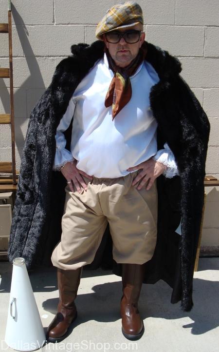 Cecil B. Demille Directors Costume