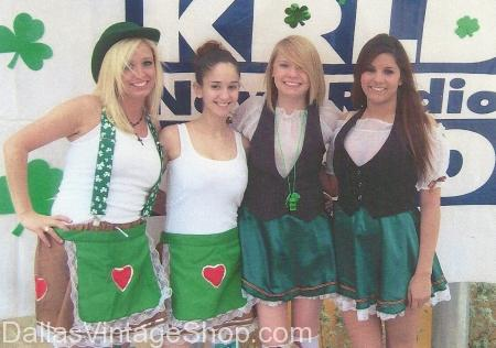 Irish Ladies Costumes