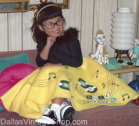 Children's Poodle Skirts
