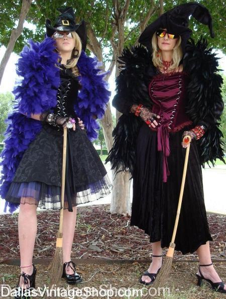 Diva Witch Costumes, Mother and Daughter Diva Witch Costumes, Dallas Witch Costumes