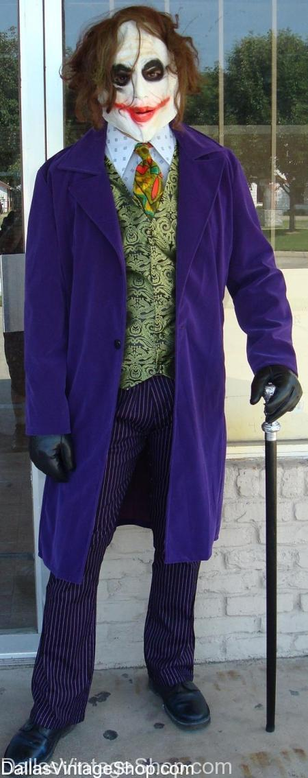 Deluxe Joker Costumes, Joker Costumes, Heath Ledger Joker Costumes