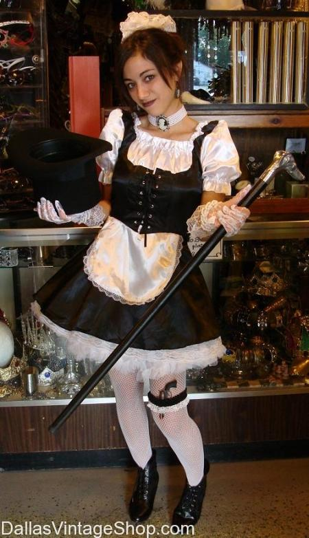 Dallas Halloween Costume French Maid Costume