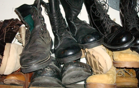 Military and Combat Style Boots