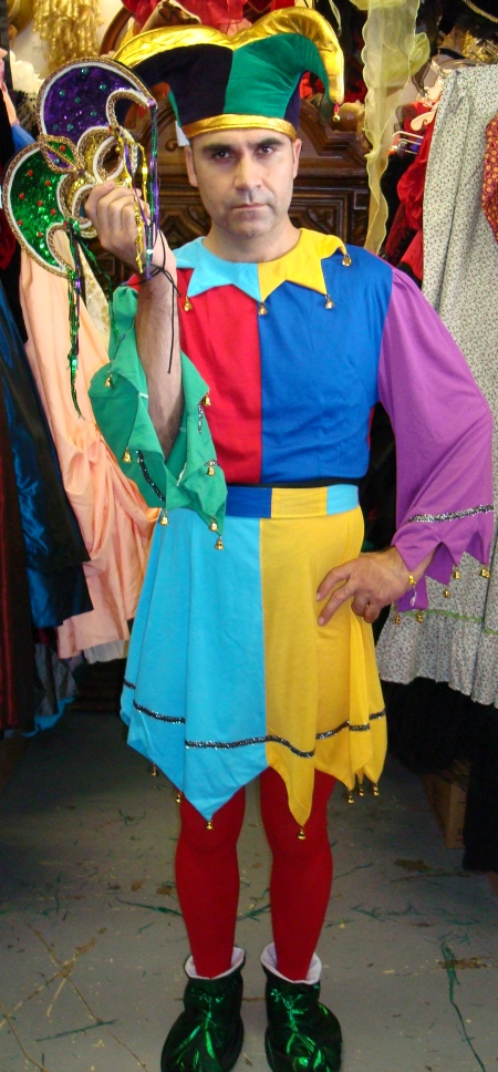 Scarborough Fair Jester Costume