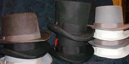 Men's Victorian Top Hats