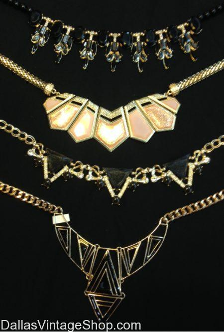 Art Deco Costume Necklaces
