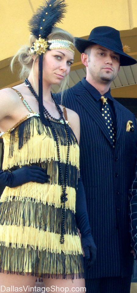 Gangster Gal Adult Ladies Fancy Dress Costume Chicago Roaring 1920/'s Al Capone