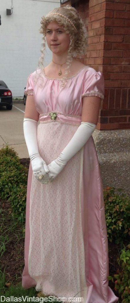 Regency Period Attire, Harriet Smith Emma Costume, Jane Austen Harriet Smith Emma Regency Period Costumes, Jane Austen Regency Period Attire, Regency Period Dresses, English Country Regency Period Attire,