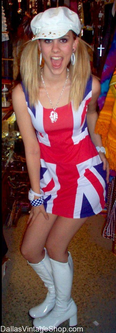 Get this 90's Spice Girl Ginger Costume at Dallas Vintage Shop. We have 90's Clothing & Fashions, 90's Musicians Outfits, 90's Celebrity Costumes & Accessories in stock.