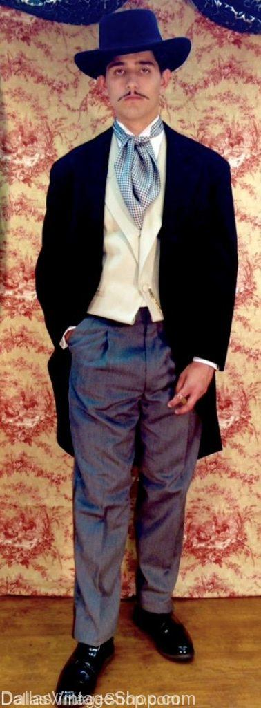 We have Classic Movie Characters Costumes like this Rhett Butler, Gone With the Wind Movie Character Outfit. Get other Classic Movie Characters, Hollywood Classic Movie Characters, Famous Classic Movie Characters, Most Popular Classic Movie Characters, Rhett Butler Movie Character, Rhett Butler Movie Character Costume, Gone With the Wind Movie Character, Gone With the Wind Movie Character Costume, Top Classic Movie Characters, Blockbuster Classic Movie Characters, Academy Award Classic Movie Characters, Best Classic Movie Characters, Classic Movie Characters Costumes, Classic Movie Characters Costume Ideas, Classic Movie Characters Leading Men, Classic Movie Characters Leading Men Costumes, Quality Classic Movie Characters Costumes, Supreme Quality Classic Movie Characters Costumes, Famous Classic Movie Characters Costumes at Dallas Vintage Shop.