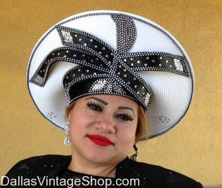 Charismatic Fashion Hats For Sunday Church Dallas Vintage Clothing Costume Shop