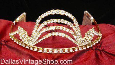 Modern Jeweled Tiara