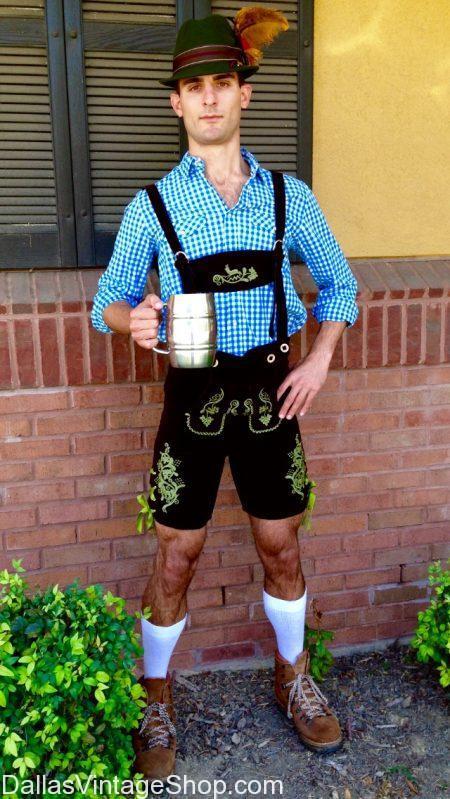 Dallas Vintage Shop has Historical Oktoberfest Costumes, Theatrical Oktoberfest Costumes, Vintage Oktoberfest Costumes, Humorous Oktoberfest Costumes and Crazy Oktoberfest Costumes in stock.