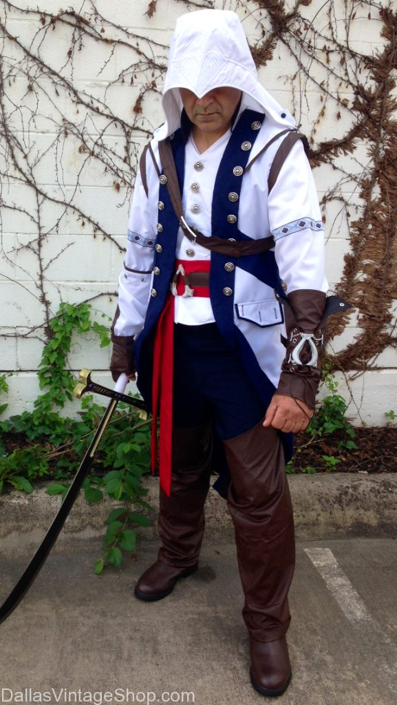 Assassin's Creed Connor Kenway Costume, Cosplay, Assassin's Creed Connor Kenway Costume Dallas, Assassins Creed Costume Dallas, Connor Conway Costume Dallas, Cosplay Assassins Creed Costume Dallas, Cosplay Connor Kenway Costume Dallas,  Comic Con Dallas Costume Ideas,