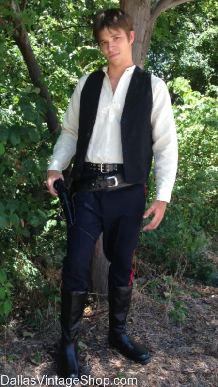 Hans Solo, STAR WARS, Harrison Ford Quality Costume Dallas, We have Star Wars Hans Solo Costumes, Star Wars Harrison Ford Costumes, Star Wars Movie Costumes, Star Wars Characters Costumes, Star Wars All Episodes Costumes DFW, Star Wars Popular Characters Costumes Dallas, Sci-fi Star Wars Costumes,