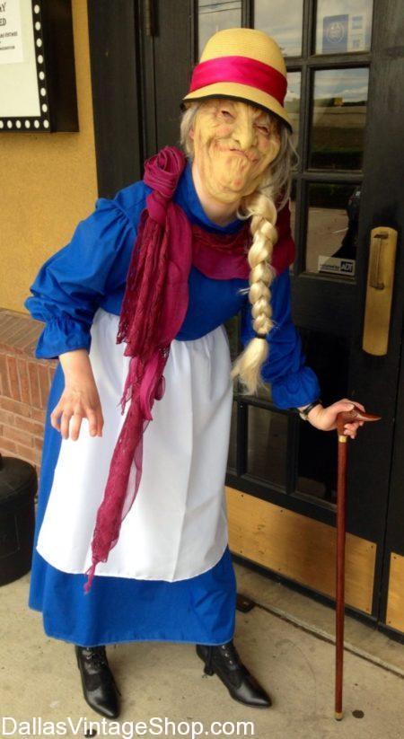 DFW A-KON: Anime Convention Info: A-kon Sophie Howl's Moving Castle Costume, A-kon Details & Costume Info,  A-kon Anime Convention DFW Schedule & Costume Info,