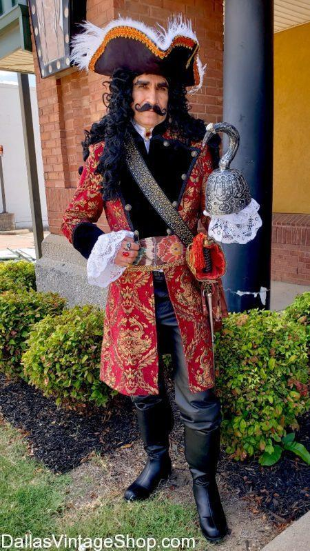'Hook,' the Movie Costume, Dustin Hoffman Hook Pirate Costume, Captain Hook Best Costume, Hook Quality Pirate Costume, Dustin Hoffman Hook Movie Captain Hook Costume, Hook Costume, Pirate Costumes, Captain Hook Period Costume, Captain Hook Theatrical Attire,