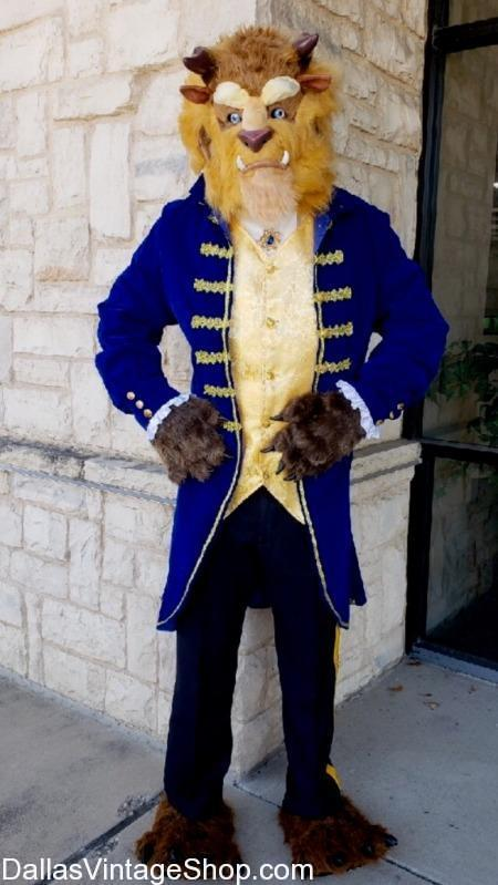 Quality 'Beauty and the Beast' Prince Costume,  Beauty and the Beast Mascot,  Beauty and the Beast Head Piece, moving mouth Beauty and the Beast Costume, Beauty and the Beast Cartoon Costumes, Studly Disney Character Beast Jackets, Quality Beast Regal Uniforms, favorite Disney Character's Costumes, popular Storybook Beauty and the Beast Characters, Beast Costumes, Beast Royal Prince of France Costume, Beauty and the Beast Theatrical Costumes, Beauty and the Beast Disney Costumes,