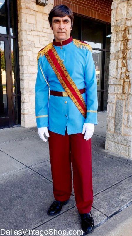 Disney Characters Costumes, Disney Costumes, Disney Costume Shops, Disney PRINCE CHARMING, Disney Cinderella Fairy Tale Characters Costume, Quality Disney Prince Charming Men's Wigs, Disney Prince Charming Light Blue Prince Coat, Many Disney Prince Charming Characters Outfits, Classic Disney Prince Charming Costumes, Disney Cartoon Prince Charming, Studly Disney Prince Outfits,