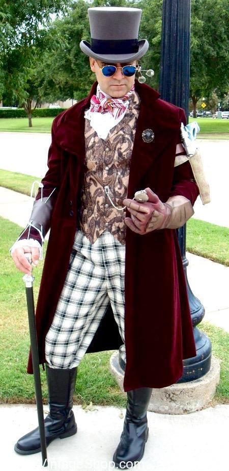 Alice In Wonderland Fancy Mad Hatter Costume