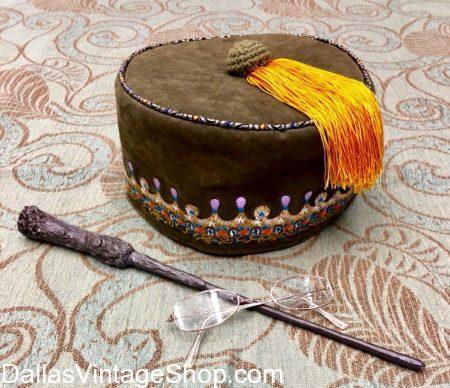 Albus Dumbledore's Tassel Hat, Wand, and Glasses, Dumbledore's Tassel Hat