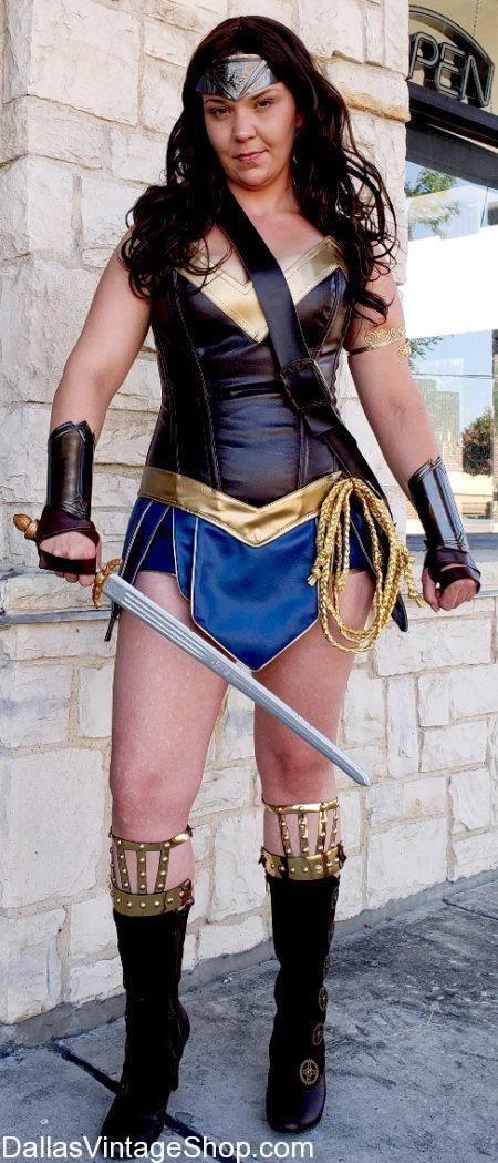 Visitor Info, Visit Dallas, Unique Shopping, Unique Things to Do, Wonder Woman is the Most Popular Costume in 2018,