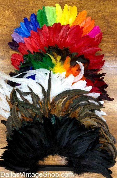 burning man, burning man feather mohawks, burning man accessories, feather mohawk, feather headdress, feathers