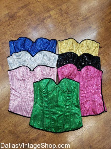 Dragon halloween ball, Corsets, Sequins, Bright, Glitter, Rave Outfit, Festival Outfit, Festival, Bright Colored Sequin Corsets