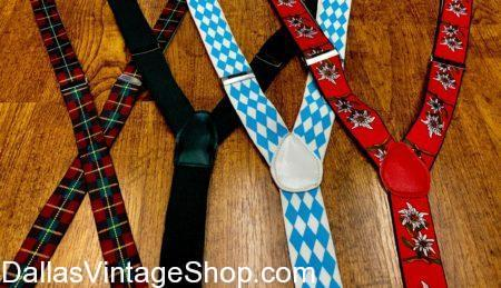 Oktoberfest Suspenders,Men's German Fest Suspenders, Alpine Suspenders, lederhosen, Bavarian Supenders