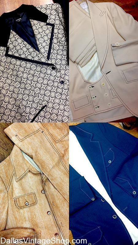 Get 70's Men's Vintage Suits, 1970's Best Men's Fashions and more. We have 70's Plaid Suits, 70's 3 Piece Suits, 70's Polyester Suits, 70's Fashion Suits, 70's Men's Suits, 70's Fancy Suits, 70's Tuxedo Suits, 70's Tapered Suits and Accessories.