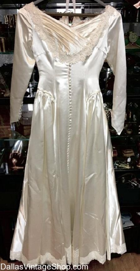 Used Wedding Dresses, Thrifted Wedding Dresses, Vintage Wedding Dresses, Thrift Store Wedding Dresses, Affordable Wedding Dresses, Preowned Wedding Dresses, Economy Wedding Dresses, Cheap Wedding Dresses at Dallas Vintage Shop