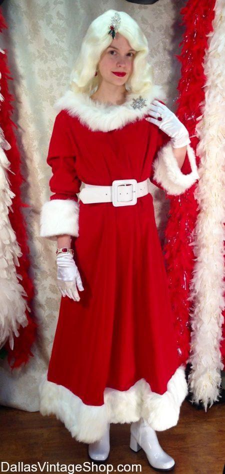 Get Mrs. Santa Clause Costumes, Mrs. Clause Dresses, Wigs & Accessories at Dallas Vintage Shop. Look at our Mrs. Santa Clause Costumes. Mrs. Santa Clause Dresses, Mrs. Santa Clause Wigs, Mrs. Santa Quality wigs, Mrs. Santa Attire, Mrs. Santa Costume Rentals, Mrs. Clause Quality Costumes, Mrs. Clause Complete Outfits, Mrs. Santa Clause, Mrs. Santa Clause Costume Shop Dallas and you will agree we are the Best Mrs. Santa Costume Shop in Dallas.