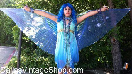 We have Dallas' largest and most diverse selection of Mystical Fairies, Fantasy Fairies, Enchanted Fairies, Medieval Fairies, Ren Fest Fairies and all the Fairy Costume Accessories you can think of for your Fantasy Fairy Costume.