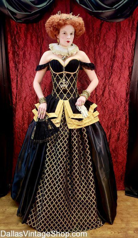 We have Dallas' largest and most diverse selection of complete Scarborough Renaissance Festival Costumes and Accessories.