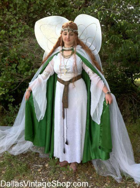 We stock Celtic Fairy Costumes, Celtic Jewelry, Celtic Fairy Wings, Mystical Fairy Wigs, Fairy Dresses, Fairy Wings and Makeup. You will also find Fairies Costumes, Fairy Wings, Medieval Fairies, Fantasy Fairies, Mystical Fairies, Renaissance Fairies, Fairy Dresses, Fairy Jewelry Fairy Costume Ideas, Fairy Halos, Fairy Circlets, Fairy Wigs, Fairy Costume Accessories, Magical Fairy Costumes, Fairy Ideas in stock all year round.