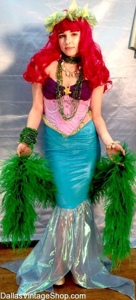 Dallas Vintage Shop has this Princess Ariel Costume, Mermaid Costumes, Ariel Mermaid Wigs, Disney Princess Costumes & Princess Accessoiries.