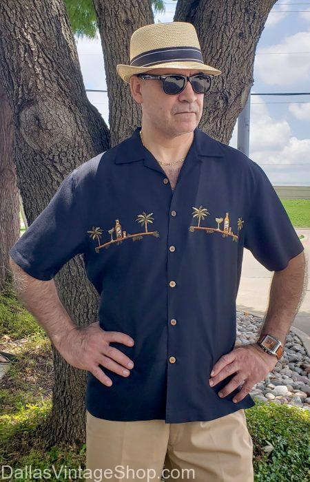Tropical Fashions Dallas at Dallas Vintage Shop are Plentiful. Get Chic Tropical Fashions, Better Quality Tropical Brand Clothing, Upscale Tropical Shirts and Rich Resort Wear Tropical Attire in array of colors & styles.