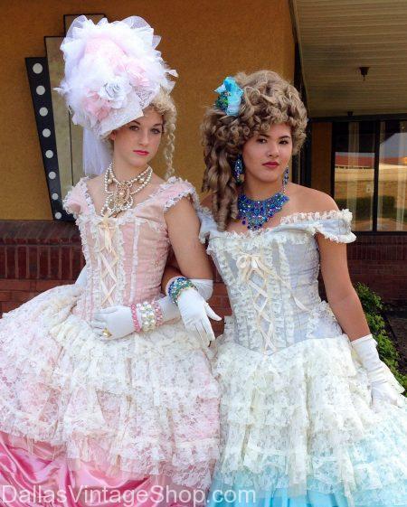 Period Costumes, Theatrical Period Attire, Historical Period Costumes, Theme Party Period Clothing & Halloween Period Costumes are at Dallas Vintage Shop.