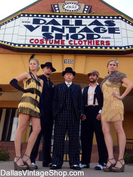 Dallas Vintage & Costume Shop Hours: DFW's Largest Costume Store & Vintage Clothing Shop: Mon.-Sat. 10-7 & Sunday Closed.
