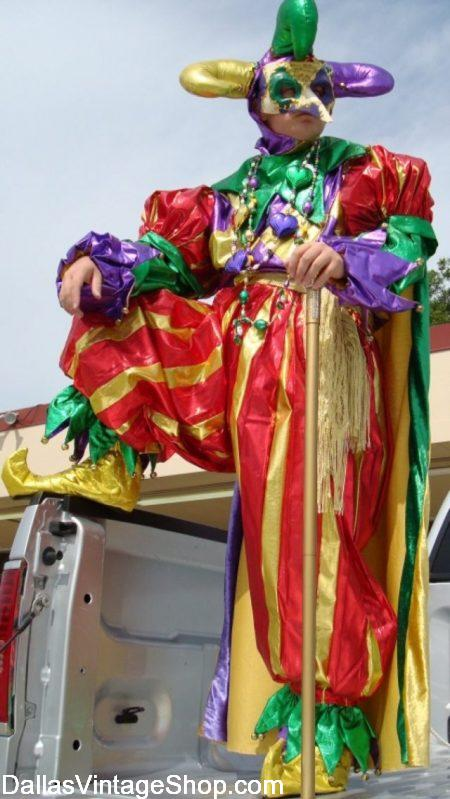 DFW Mardi Gras Costume Guide Shopping & Events from Dallas Vintage Shop