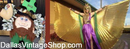 Mardi Gras Parade Costume Ideas are at Dallas Vintage Shop.