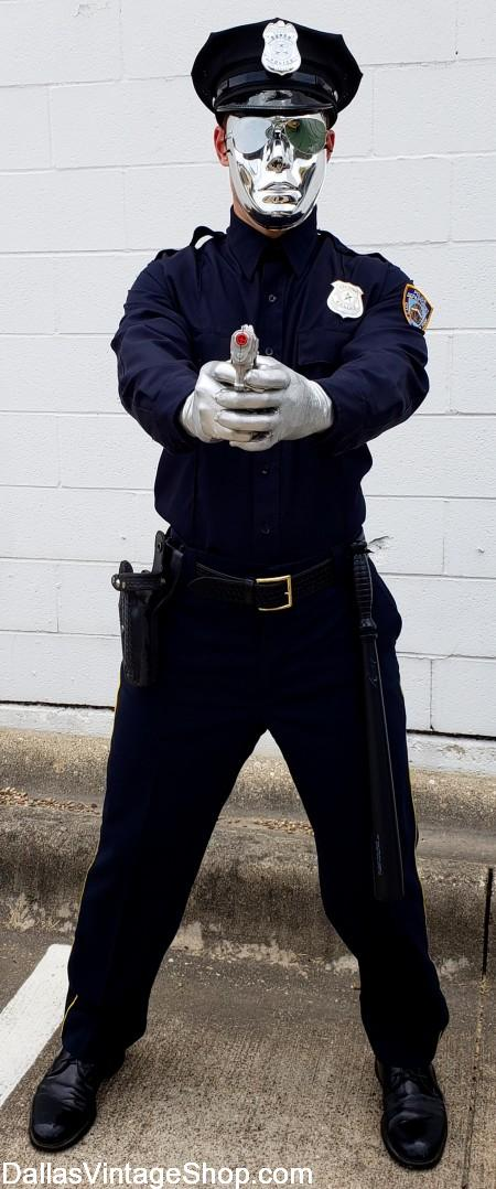 Police Uniform Costumes, Cop Uniforms, Cop Costumes, Police Officer Costumes, Cop Hats, Cop Duty Belts, Cop Badges & Cop Movie Character Costumes are at Dallas Vintage Shop.