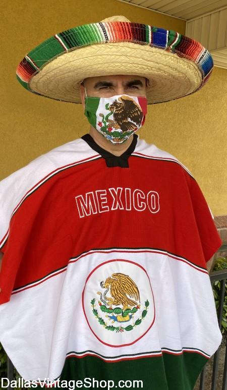 Covid 19 Mask Cinco de Mayo, Cinco de Mayo Coronavirus Cloth Masks in stock at Dallas Vintage Shop