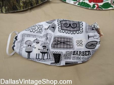 Designer Barber Mask