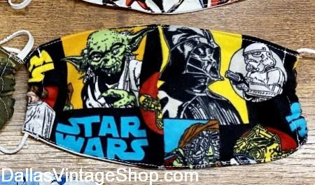 Buy Kid's Face Masks Star Wars, Child Size Face Masks for sale, Dallas, DFW, North Texas.
