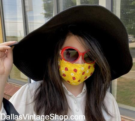 Buy Cloth Face Coverings Allen, Covid 19 & Reopening Fabric Face Coverings sold locally.