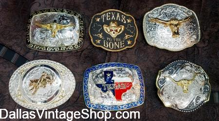 We have Western Wear Buckles, Western Wear Belt Buckles and Western Wear Clothing & Accessories at Dallas Vintage Shop.